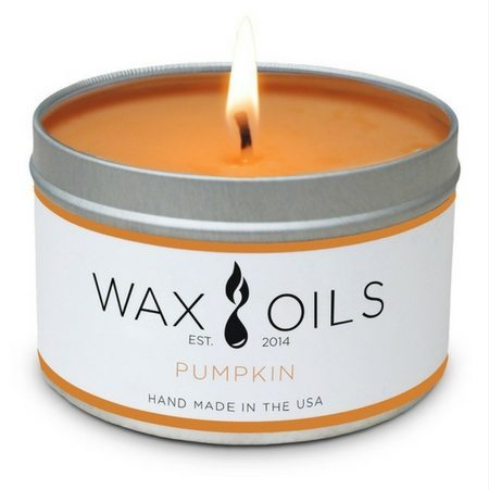 "Fall Scented Candles That Won't Give You A Headache | Wax Oils: ""Pumpkin"" Candle"