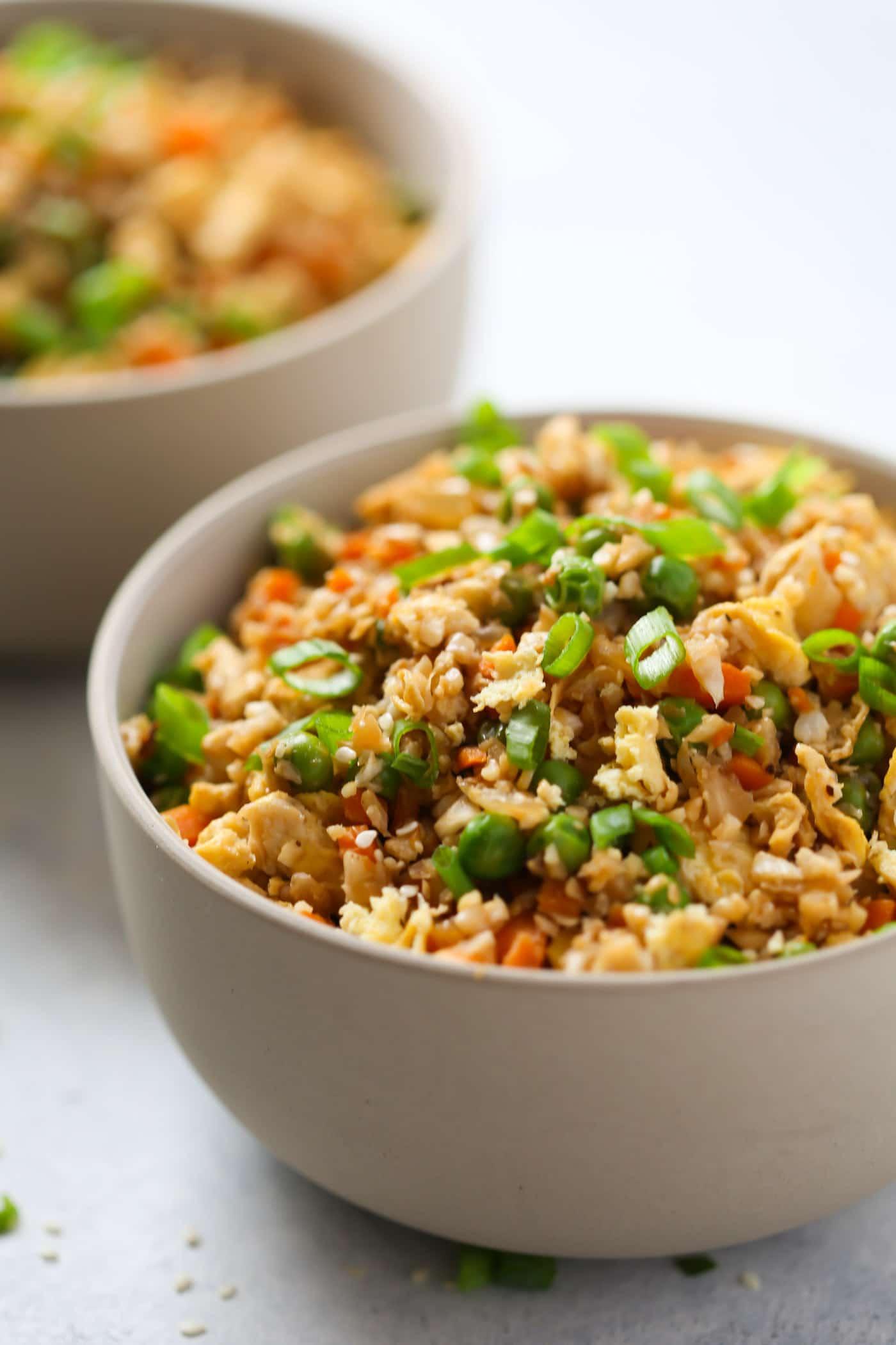 Holiday Detox Recipes | Easy Cauliflower Fried Rice