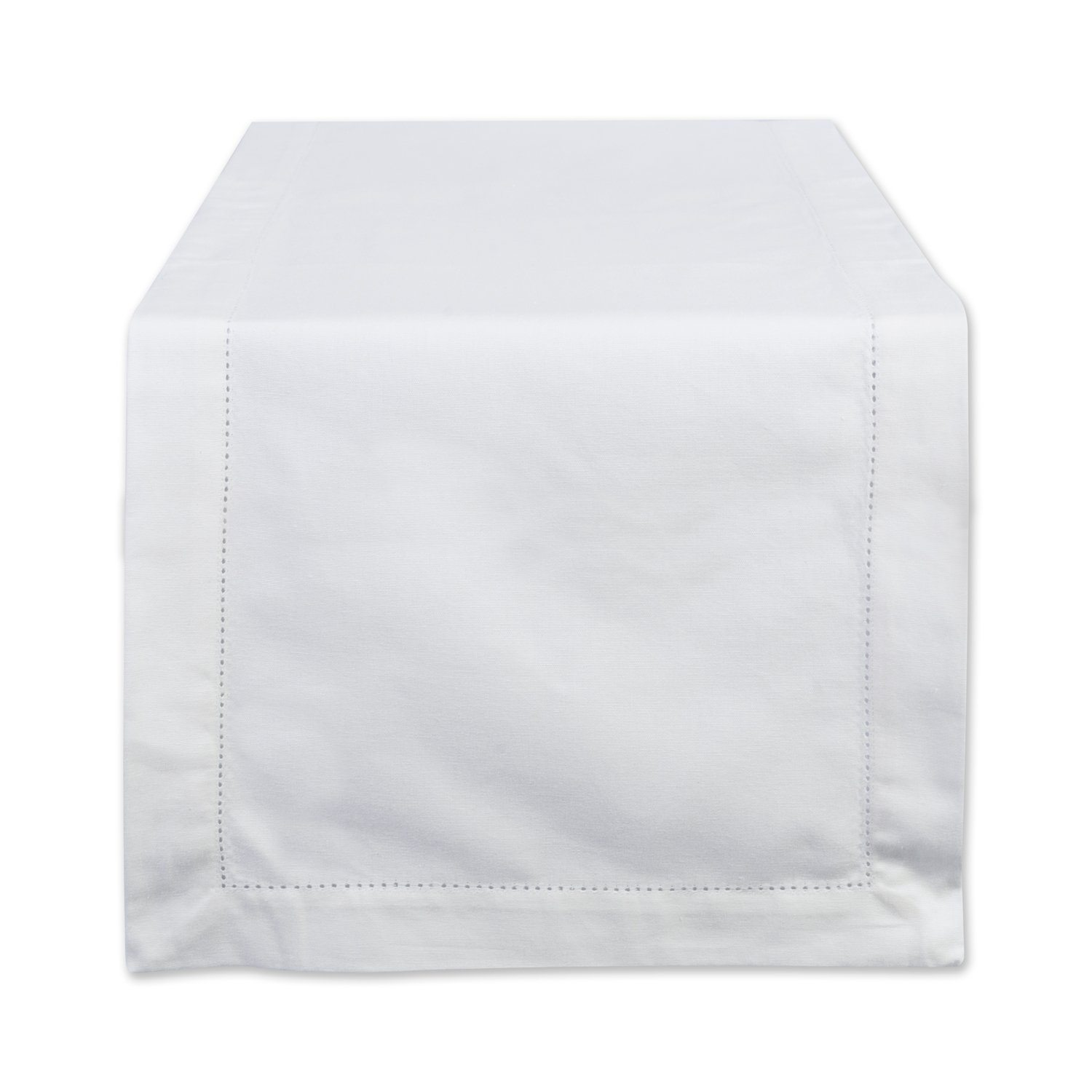 Thanksgiving Tablescape   Entertaining In Your Apartment   White Hemstitch Table Runner