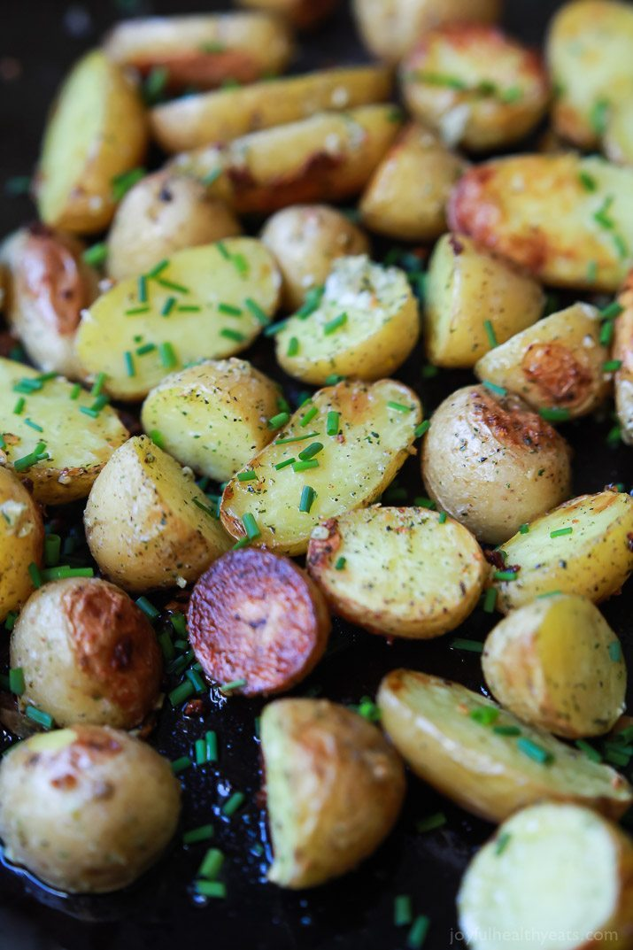 Easy Side Dishes | Easy Garlic Ranch Potatoes