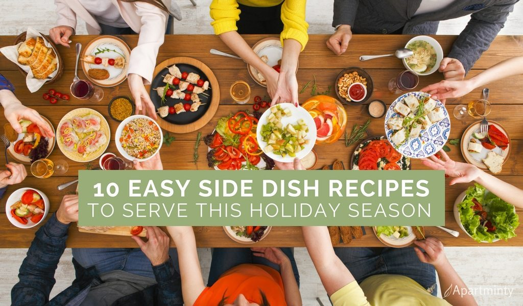 Easy Side Dishes For The Holidays