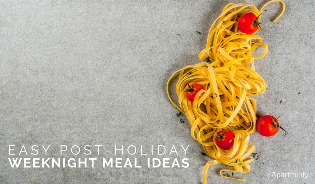 Post-Holiday Easy Dinner Ideas