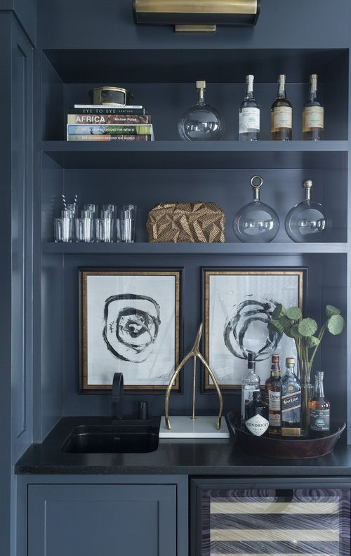 Winter Blues | Blue Decor | Kitchen Design Inspiration