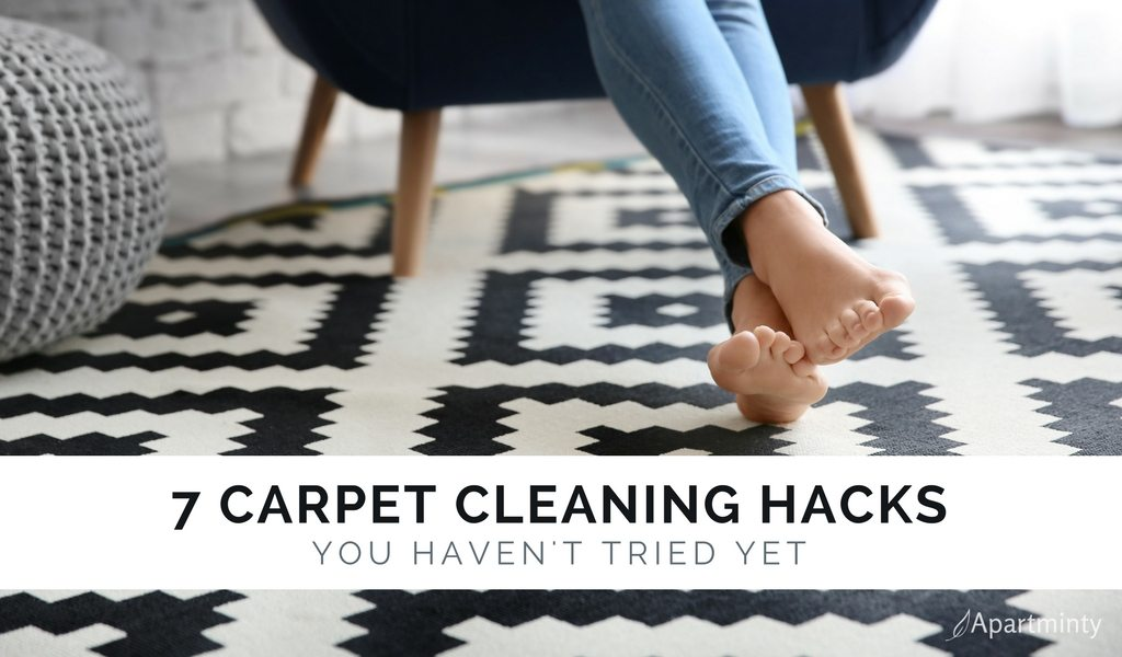 Carpet Cleaning Hacks For Your Apartment | DIY Carpet Cleaning Tips
