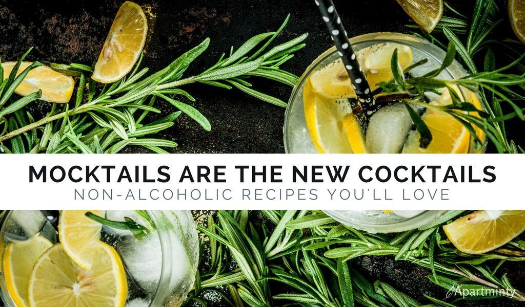 Mocktails Are The New Cocktails | Non-Alcoholic Drink Recipes