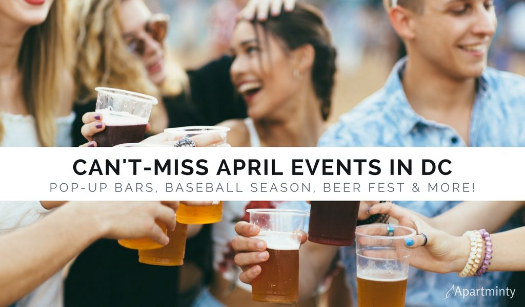 April Events In DC | Things To Do In Washington DC | Friends Cheers With Beers