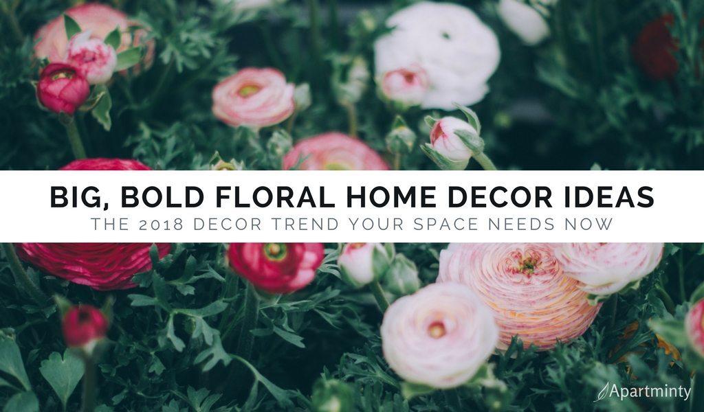 Pinspiration: Big, Bold Floral Decor