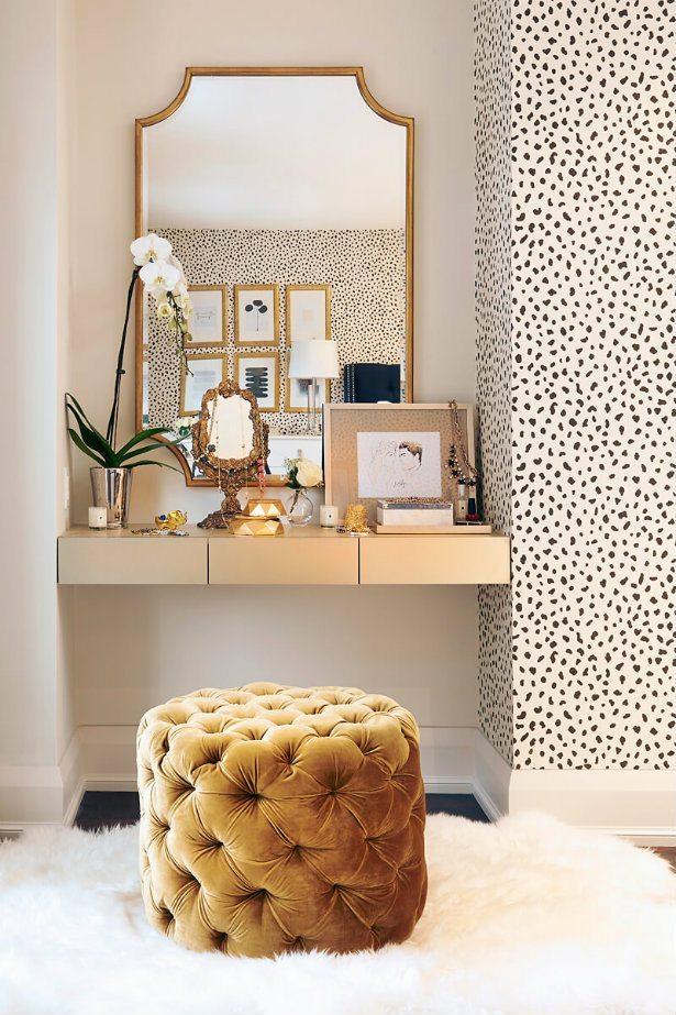 Velvet Decor | Design Inspiration | Mustard Yellow Velvet Stool Pouf