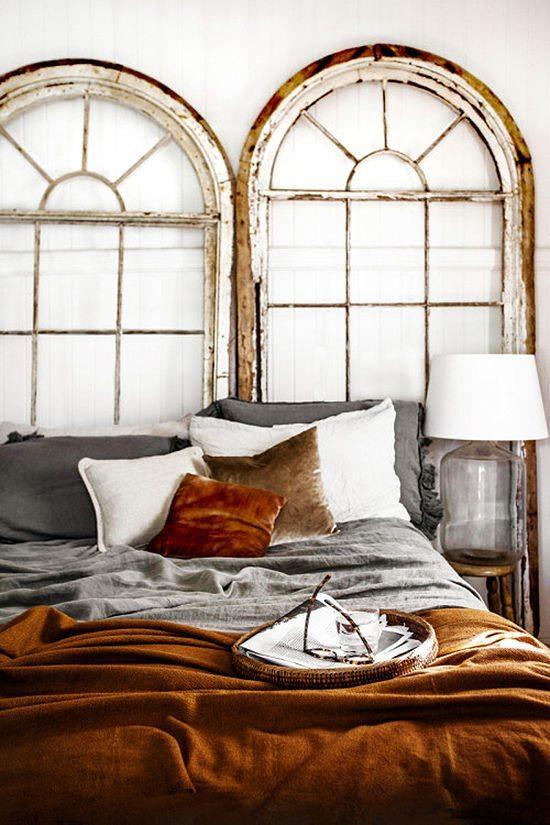 Velvet Decor | Design Inspiration | Burnt Orange Velvet Bedding & Throw Pillows