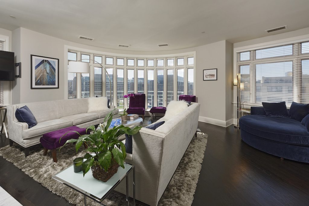 2401 penn living room