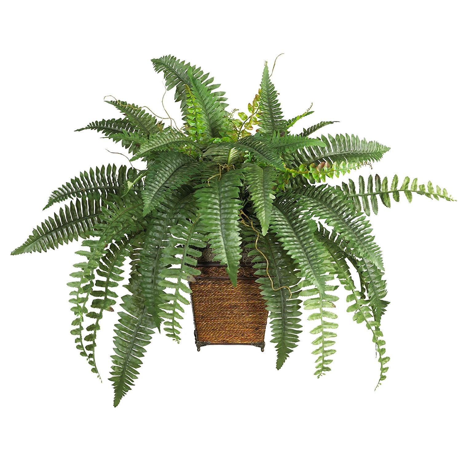 Decorating With Faux Plants | Faux Boston Fern