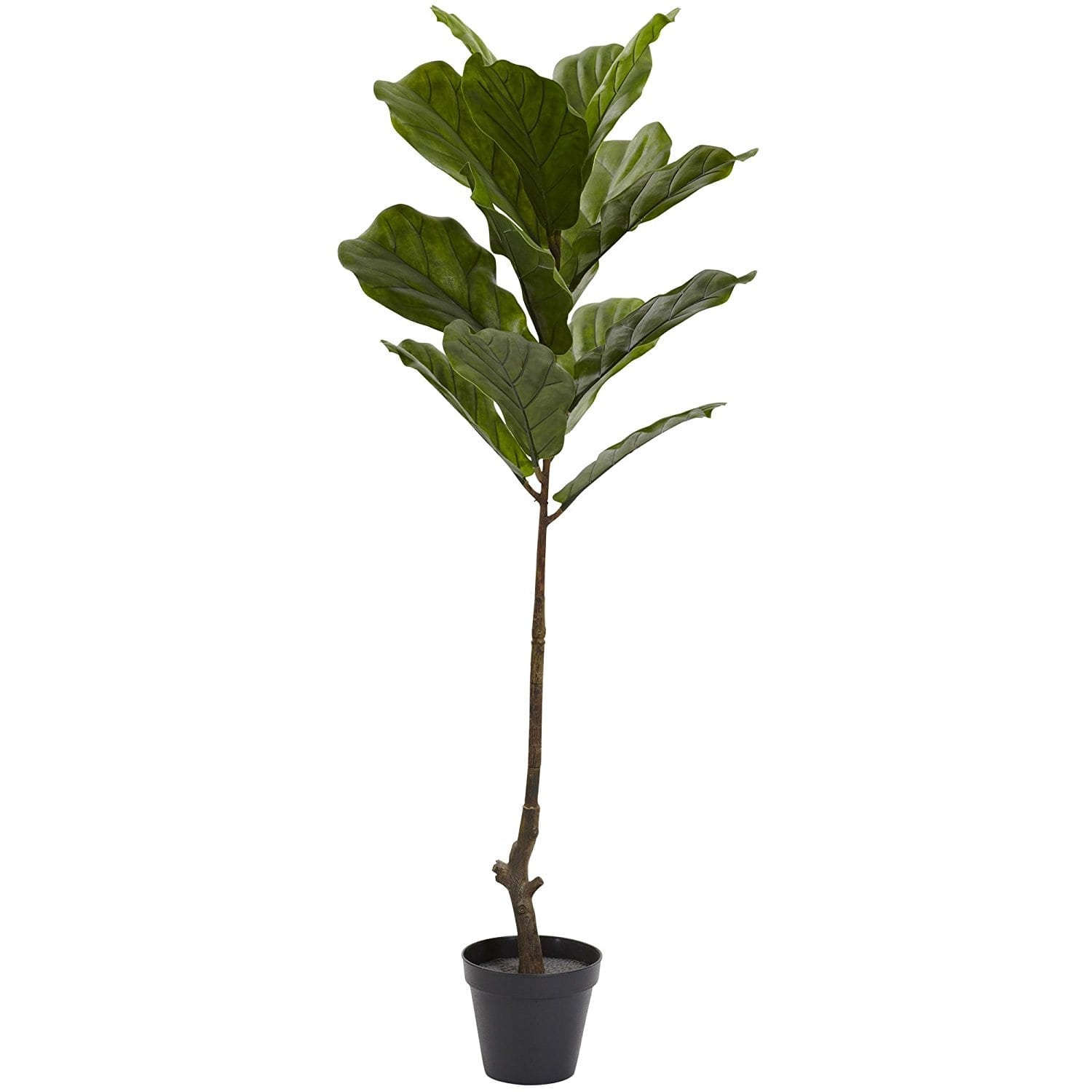 Decorating With Faux Plants   Faux Fiddle Leaf Tree