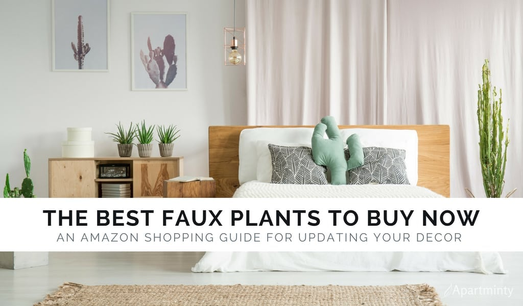 The Best Faux Plants You Can Buy On Amazon Right Now