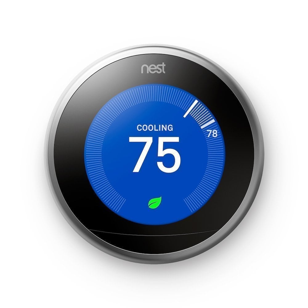 Nest Smart Thermostat | Smart Apartment Technology Gadgets