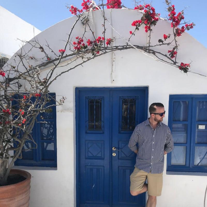 The Instagrammers Guide To Santorini, Greece   Photo-Ops in Santorini, Greece   Blue Doors