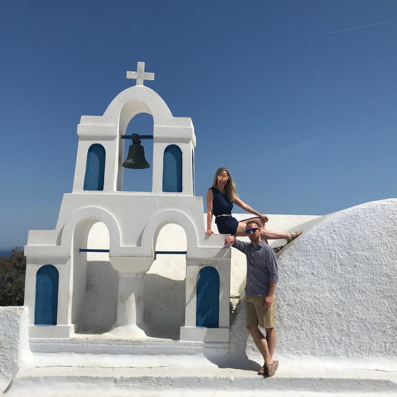 The Instagrammers Guide To Santorini, Greece | Photo-Ops in Santorini, Greece | Church Domes