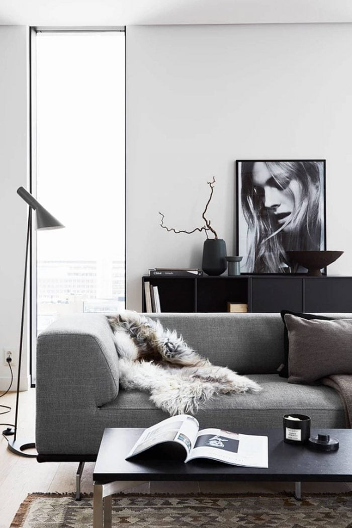 Tone-on-Tone Decor | Gray Living Room Inspiration