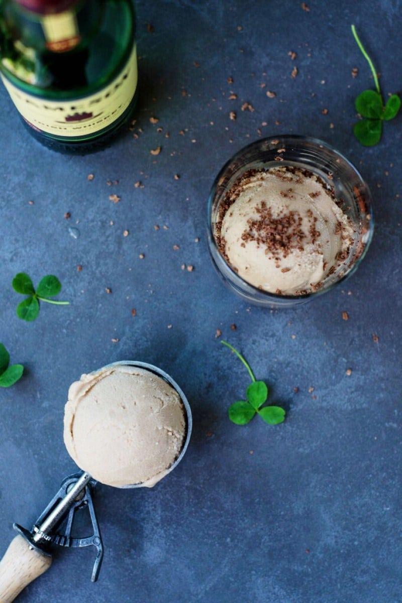 Irish Cream Non-Dairy Ice Cream | Vegan Ice Cream Recipes