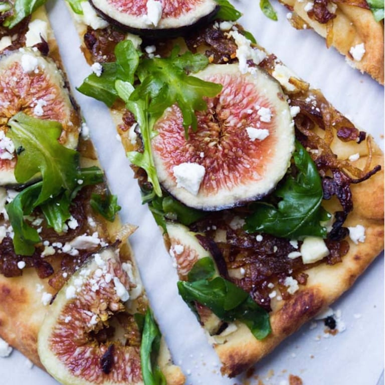 fig and onion flatbreead | Fig Recipes