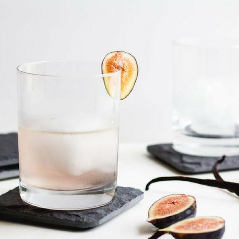 Fig Vanilla Bean Cocktail | Fig Recipes