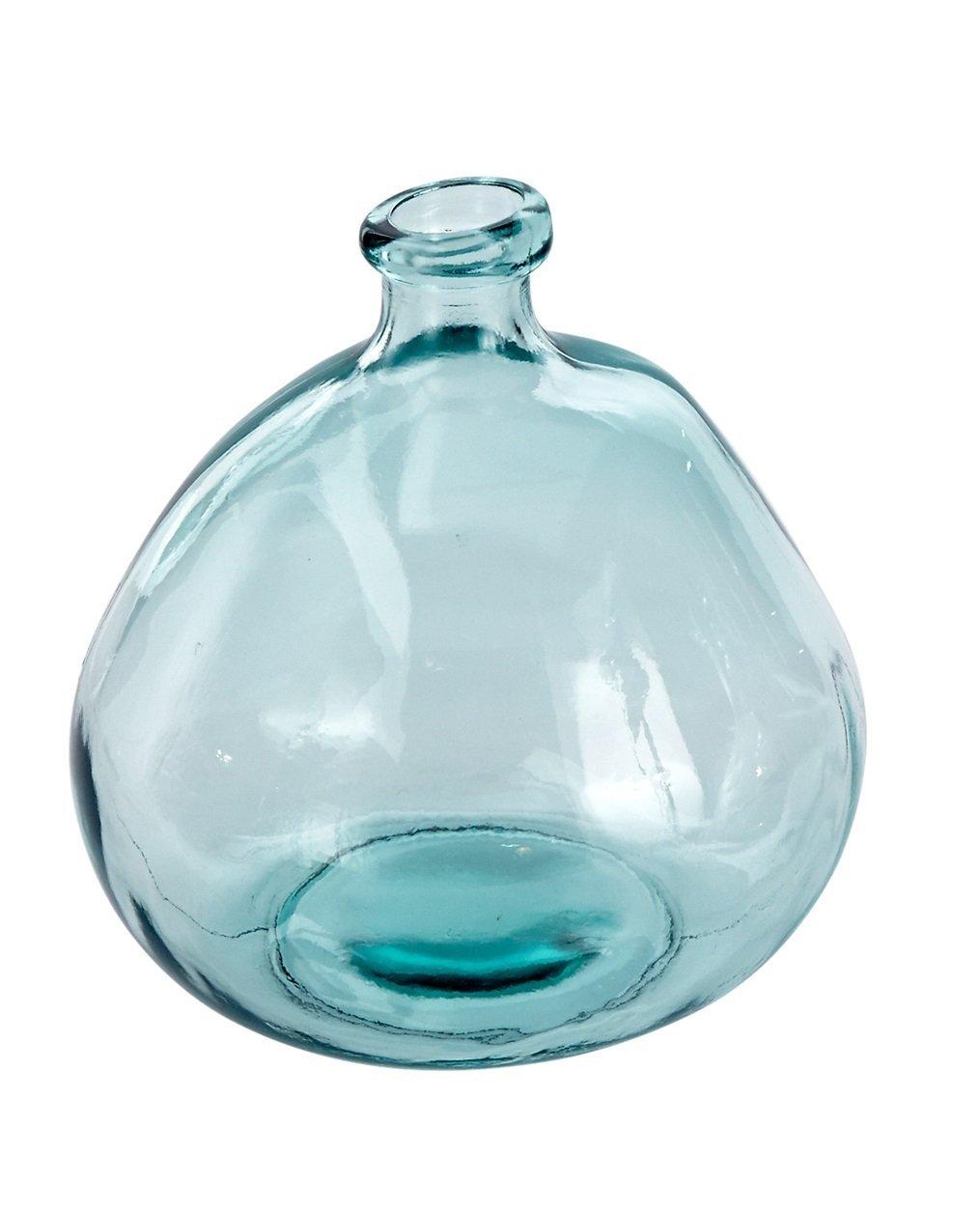Farmhouse Vibes | Apartment Decor | Spanish Glass Bubble Vase