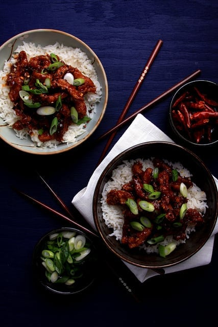Protein-Packed Vegetarian Recipes | Mongolian Soy Curls