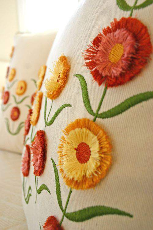 Fall Runway Fashion Trends | Hand-Painted and Applique Florals