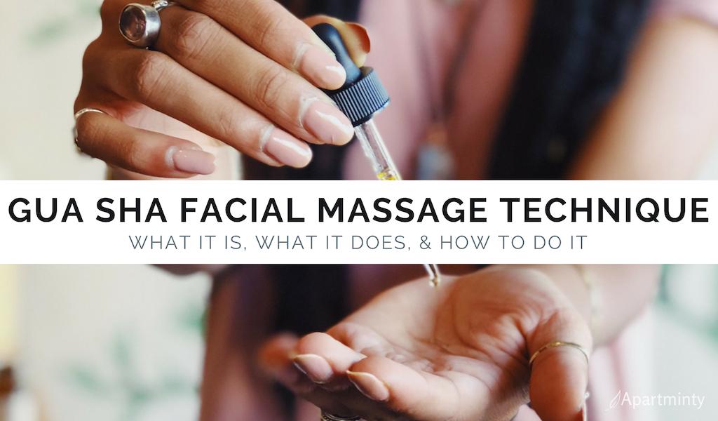 Gua Sha Facial Massage Technique