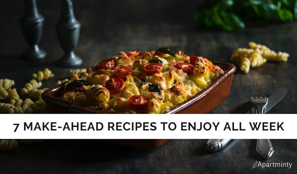 Make-Ahead Recipes | Meal Prep