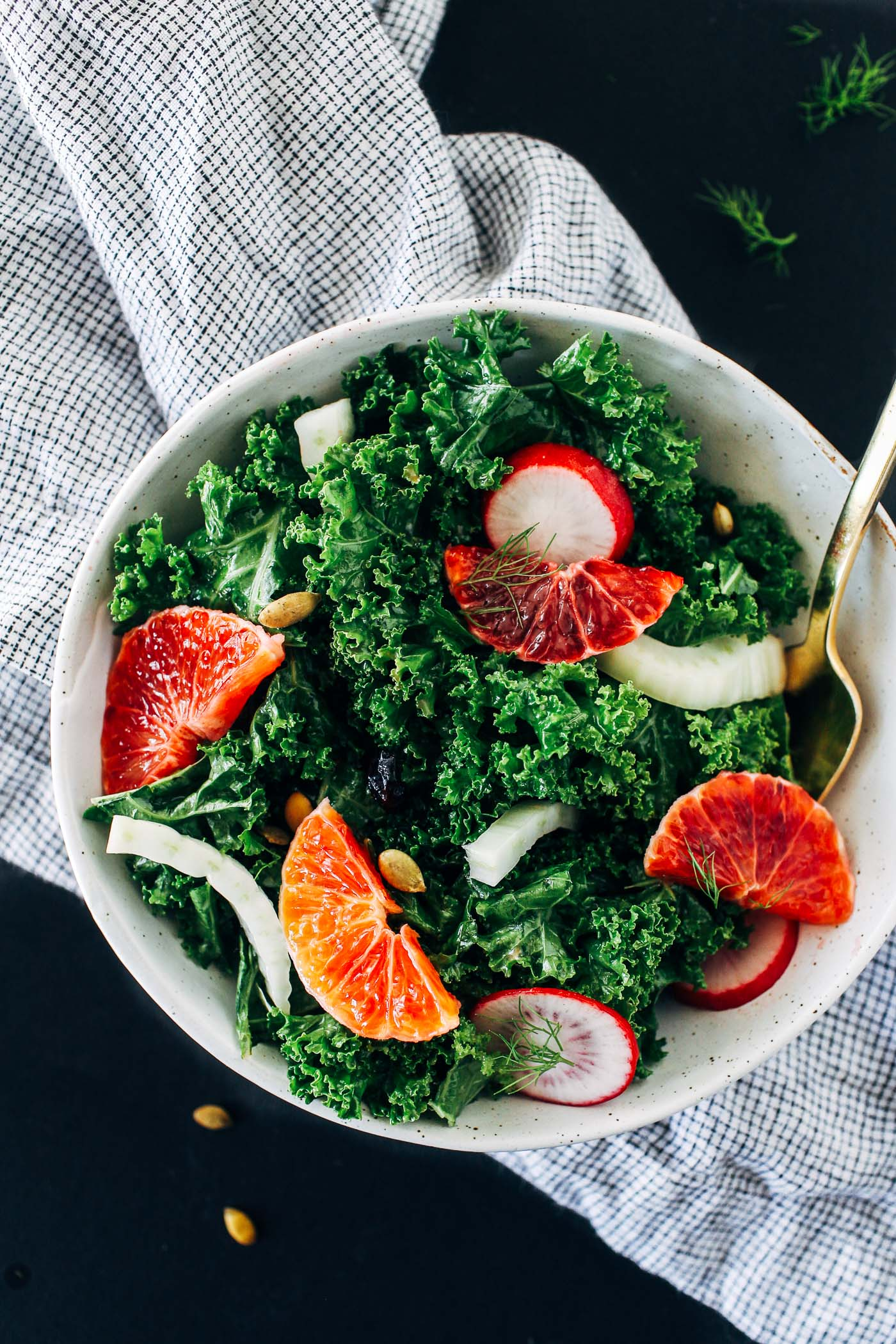 Make-Ahead Recipes | Meal Prep Guide | Winter Kale Salad