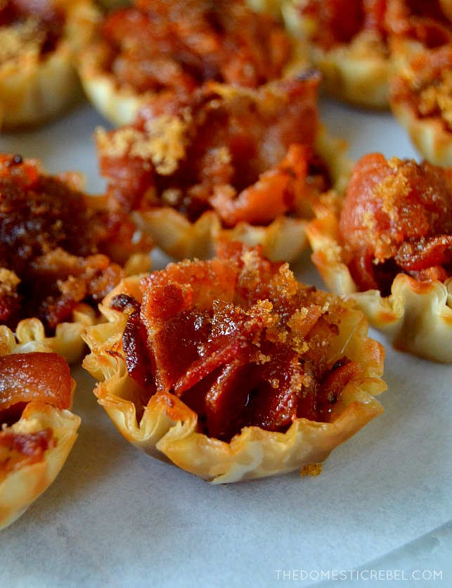 Bacon Bites | Easy Make Ahead Appetizers | Holiday Recipes