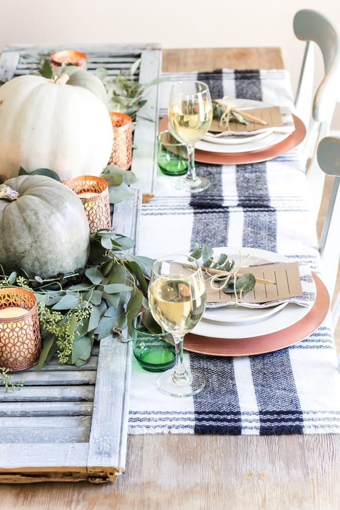 Fall Tablescape Inspiration | Apartment Decor | Entertaining at Home