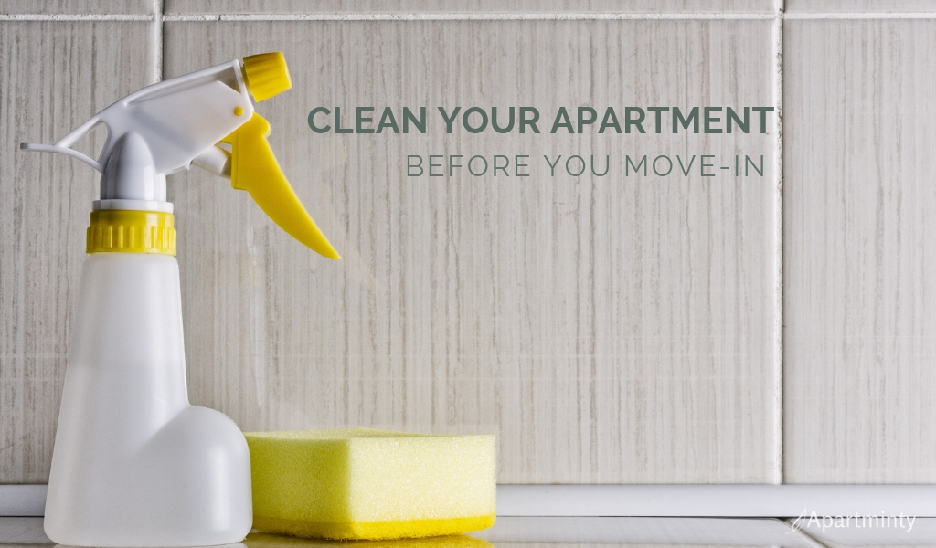 cleaning tips |How to clean an apartment before moving in