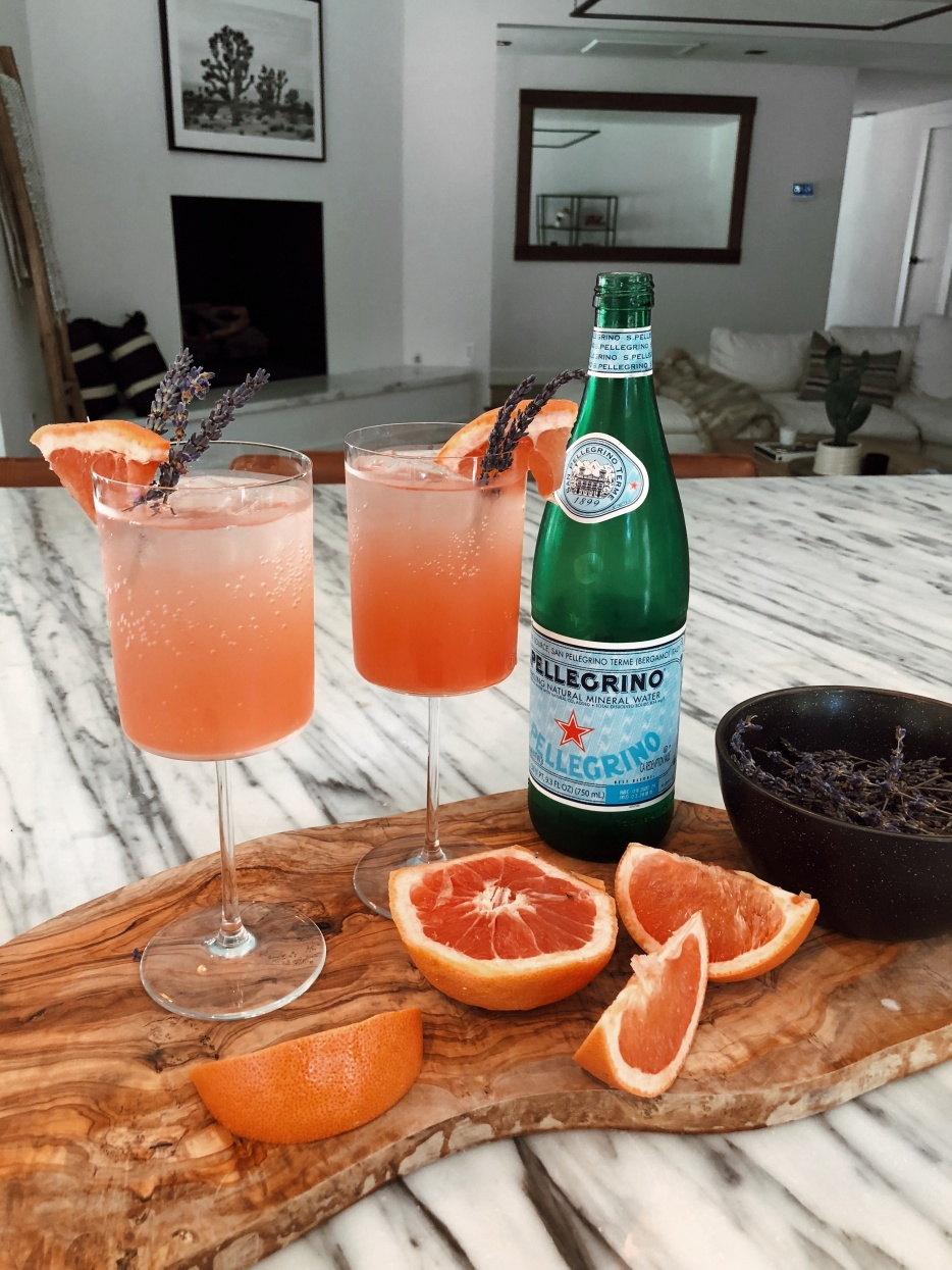 Mocktail Recipes | Grapefruit Spritzer