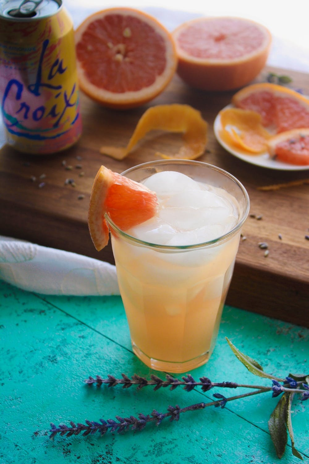 Mocktail Recipes | Grapefruit Lavender Mocktail