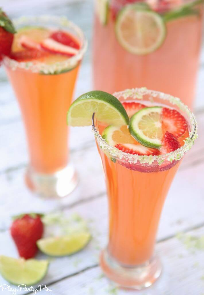 Mocktail Recipes | Citrus Strawberry